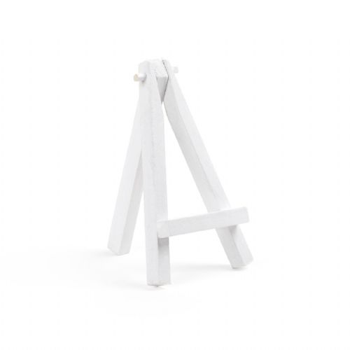 "White Colour Mini Easel 5"" - Beech Wood"